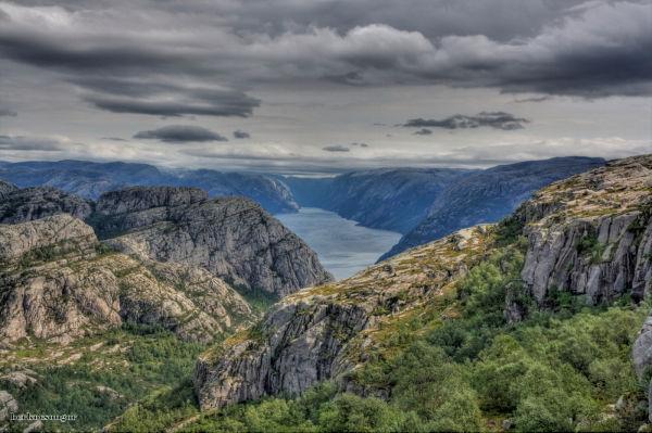 Fjord in Norway.