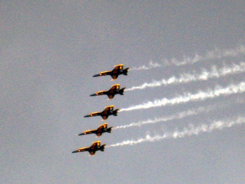 Airshow Blue Angels
