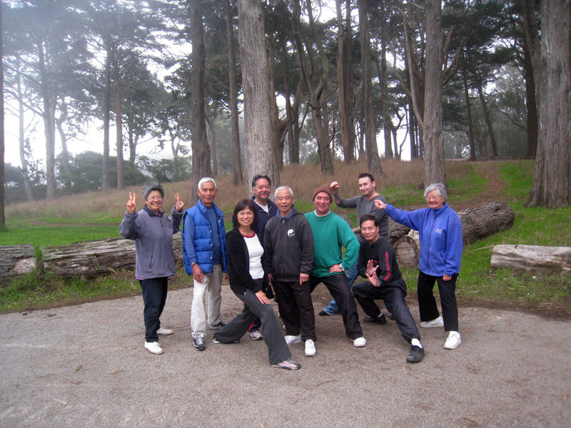 Tai Chi class our groups