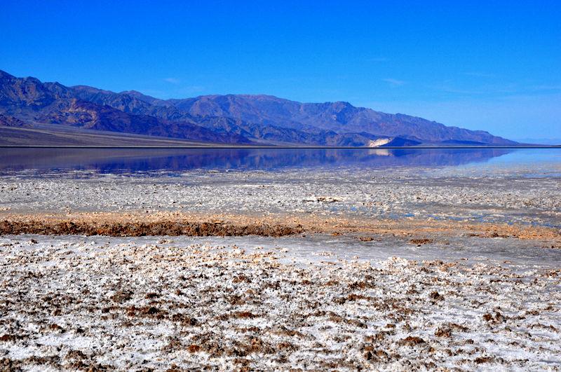 View at Badwater Basin