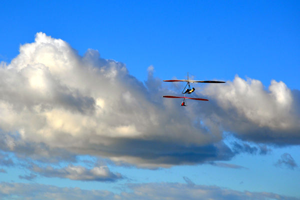 Gliders hung at Sky
