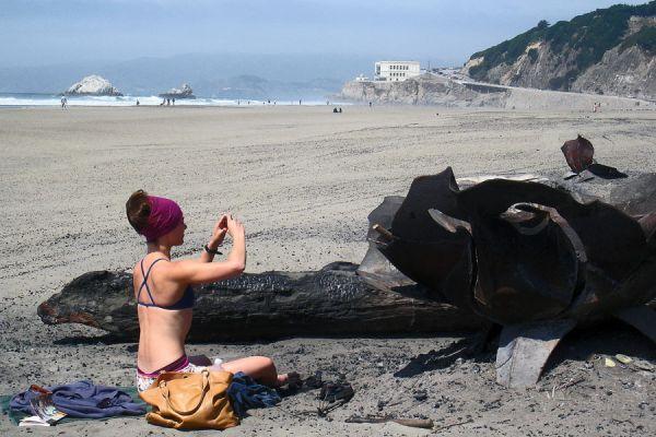Scene at Ocean Beach