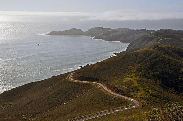 View at Marin Headlands
