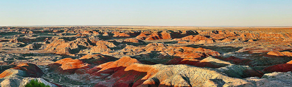 Paint Desert Badlands of Petrified Forest