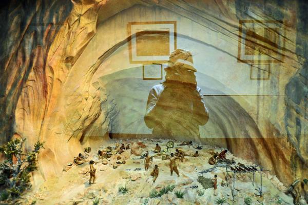 Model at Museum of Mesa Verde