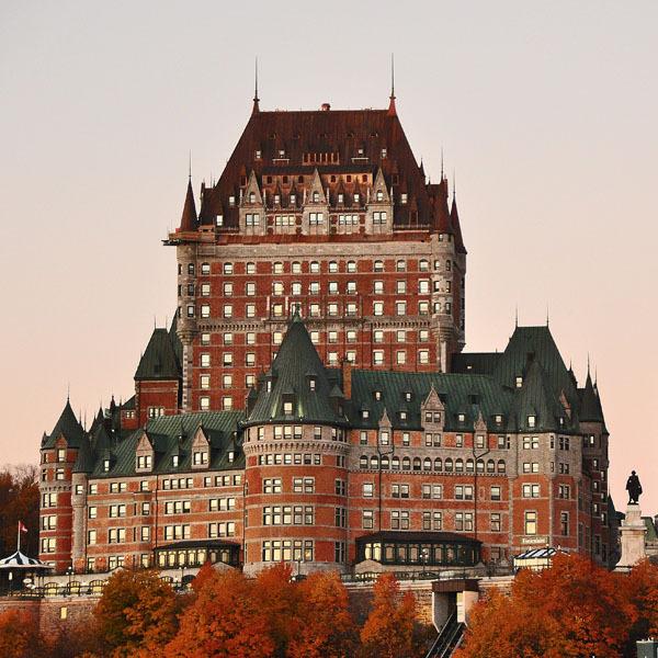 """Castle Hotel = """" Chateau Frontenac """""""