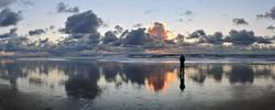 Sunset at Ocean Beach Tonight