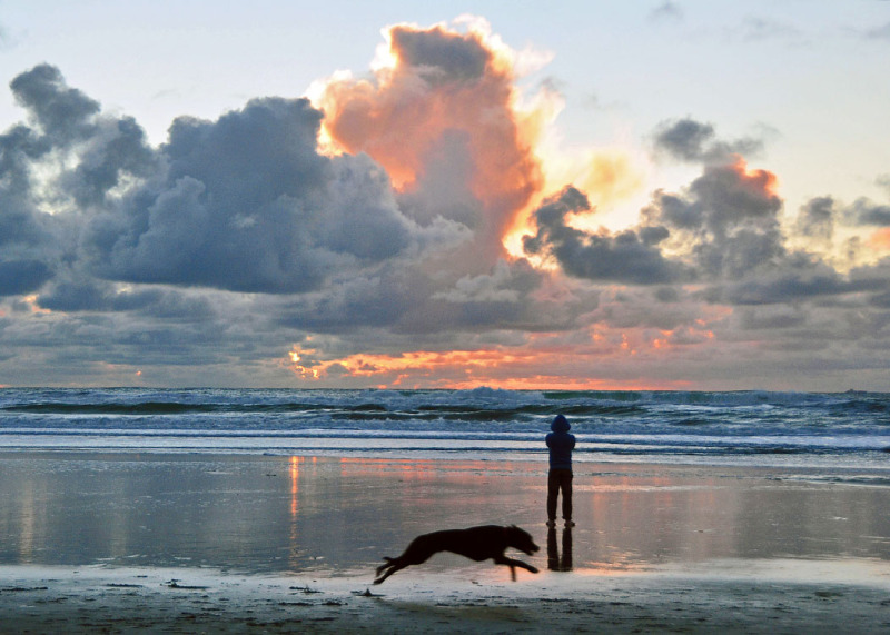 Sunset at Ocean Beach # 2