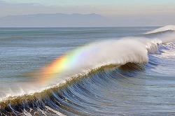 Rainbow on Waves