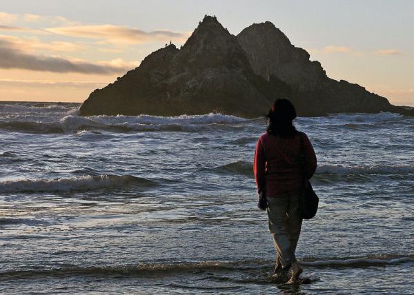 Sunset Seal Rock