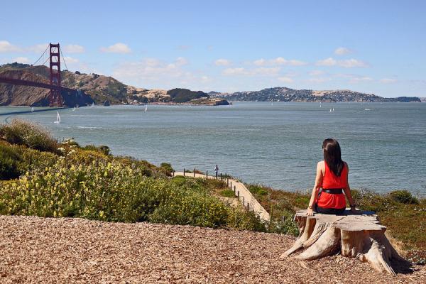 View at G.G.Bridge