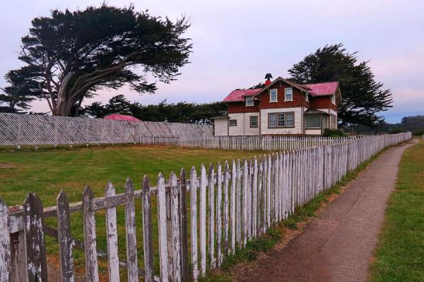 House, beside Lighthouse