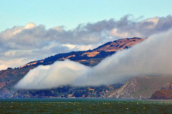 Fog over Mountains