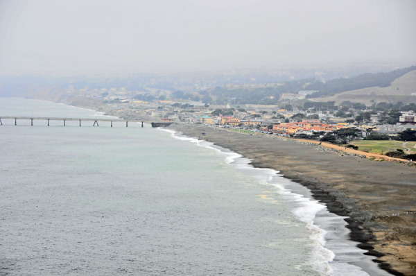 Foggy at Pacifica Coast