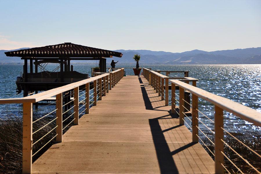 Pier of Ceago Vinegarden