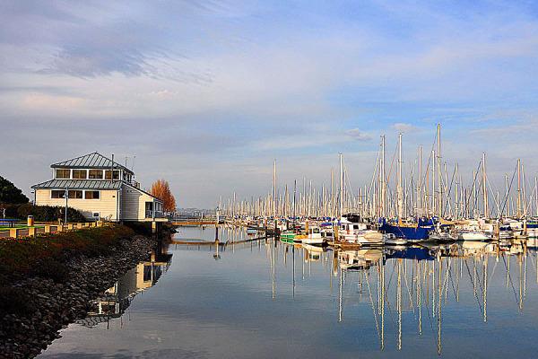 "Brisbane Bay "" Boats Reflectios """