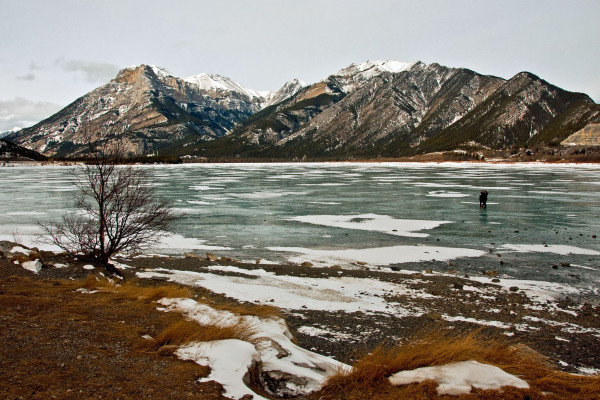 Ice Lake Banff Canada
