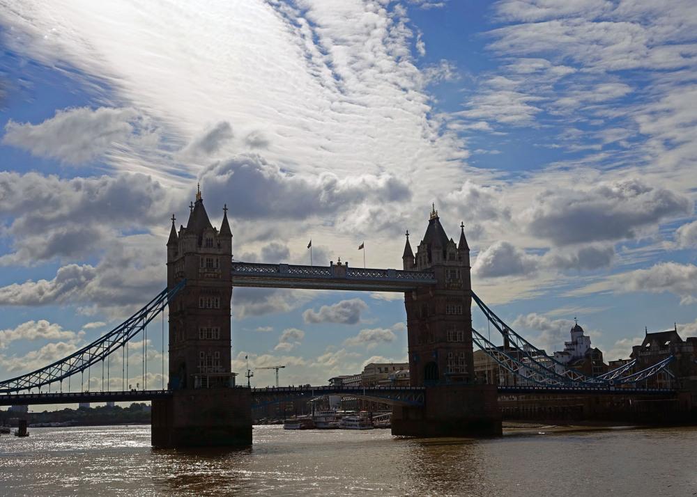 Tower Hamlets Bridge at England