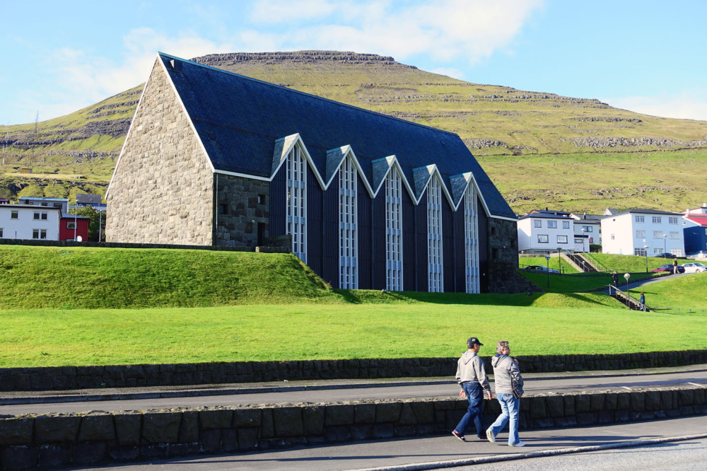 Church at klaksvik, Faroe Islands