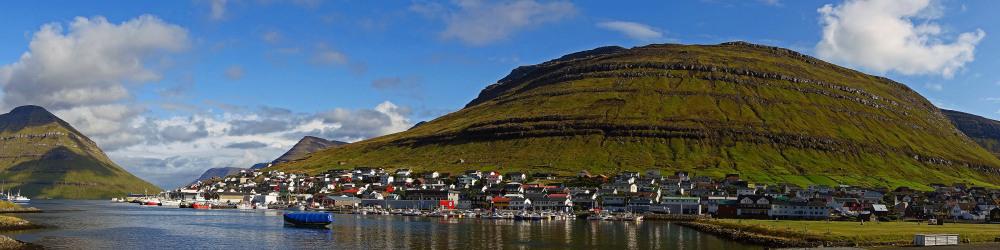 ' View ' Klaksvik, Faroe Islands
