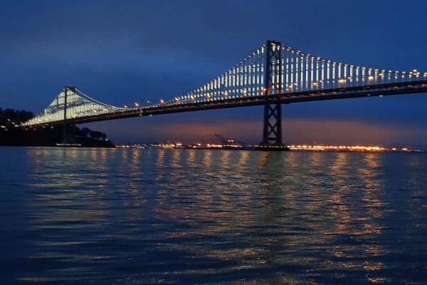 ' Old Bay Bridge ' Early morning View