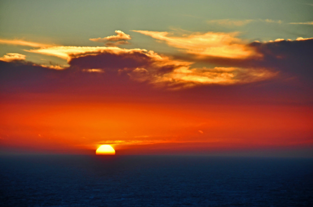 Mist Sunset