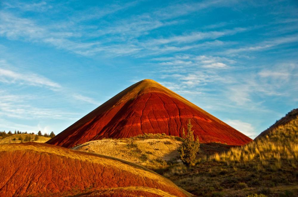 Pyramid Hill at Mitchell Oregon