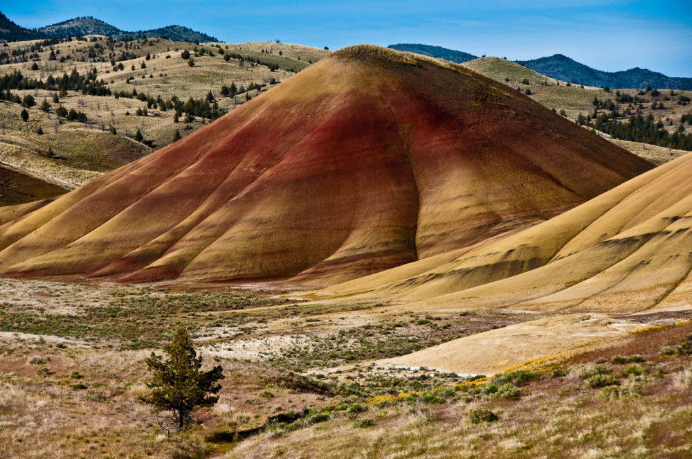 Painted Hills Mitchell Oregon