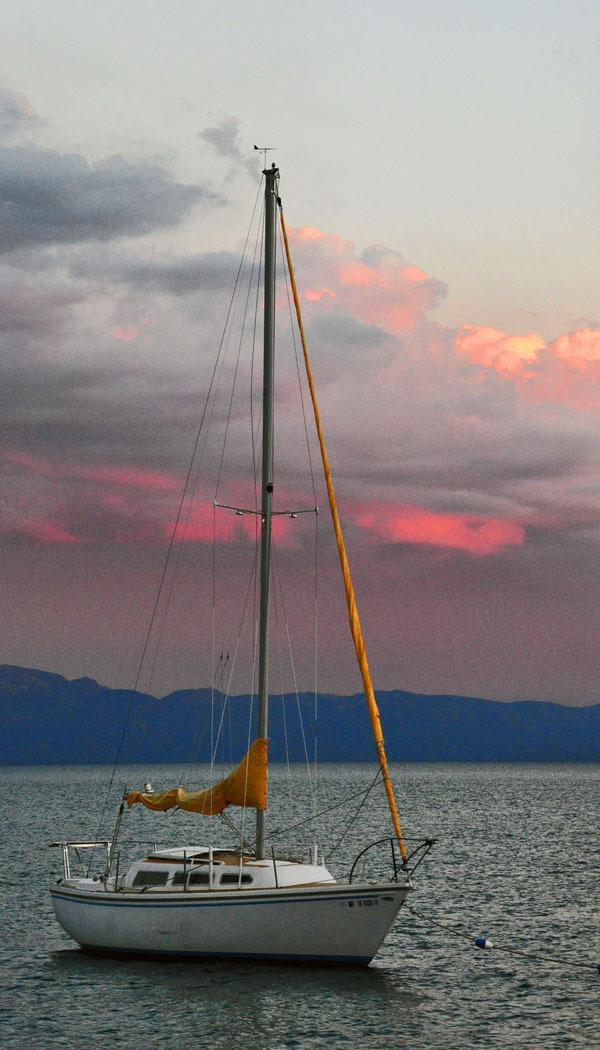 View at Lake Tahoe