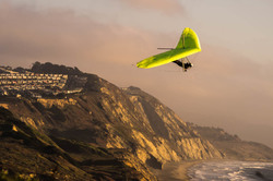 ' Glider ' late afternoon at Fort Funston