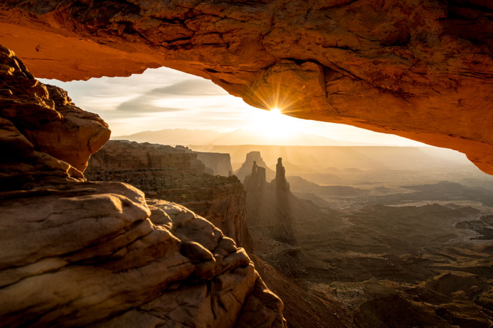 Sunrise at Canyonland