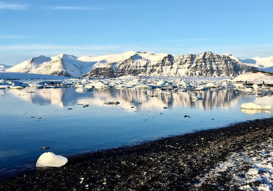 Iceland, Snow Mountains & Black Sands Beach