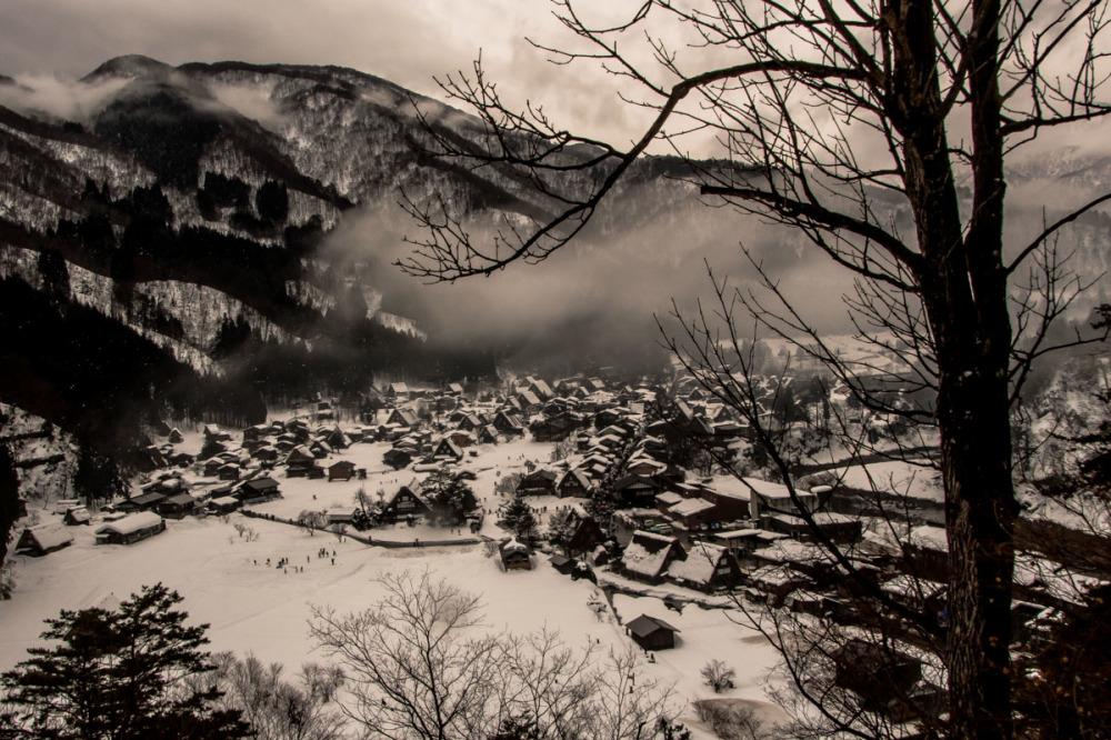View, Shirakawa, Ono-Gun-Ogimachi
