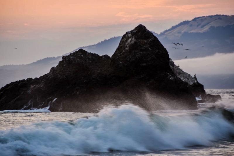Seal Rocks last night