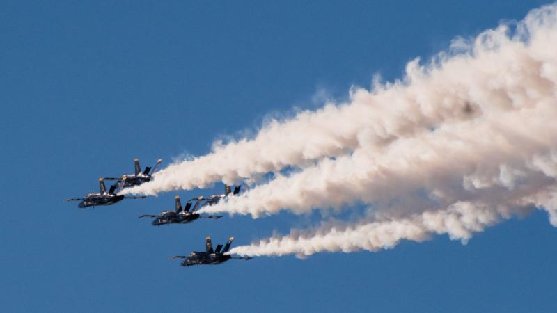 Blue Angels Air Showed