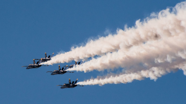 Blue Angels Air Showed