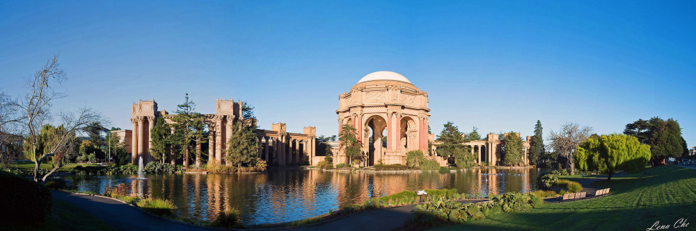 Panorama, Palace of Fine Arts