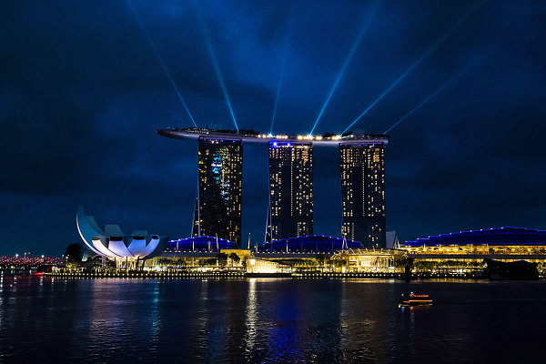 Night view Singapore