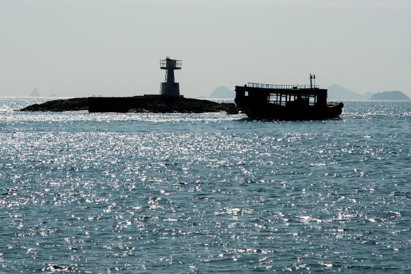 Lighthouse & Boat