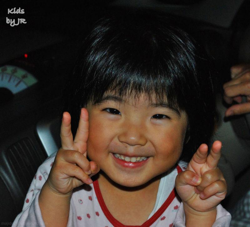 Cute little Okinawan girl