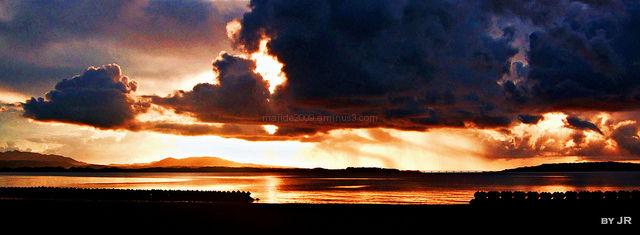 Sunset Over East China Sea