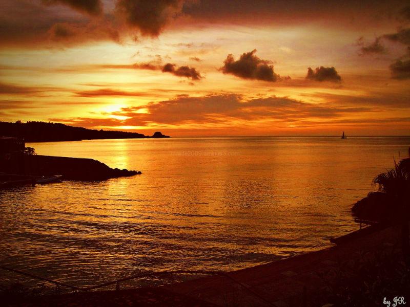 Sunset at Renaissance Resort