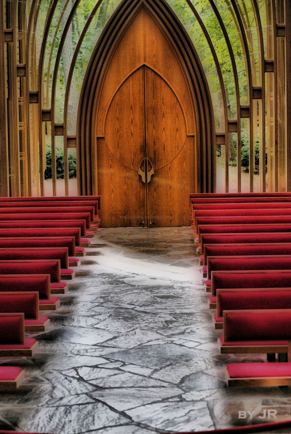 Inside Chapel in the Trees