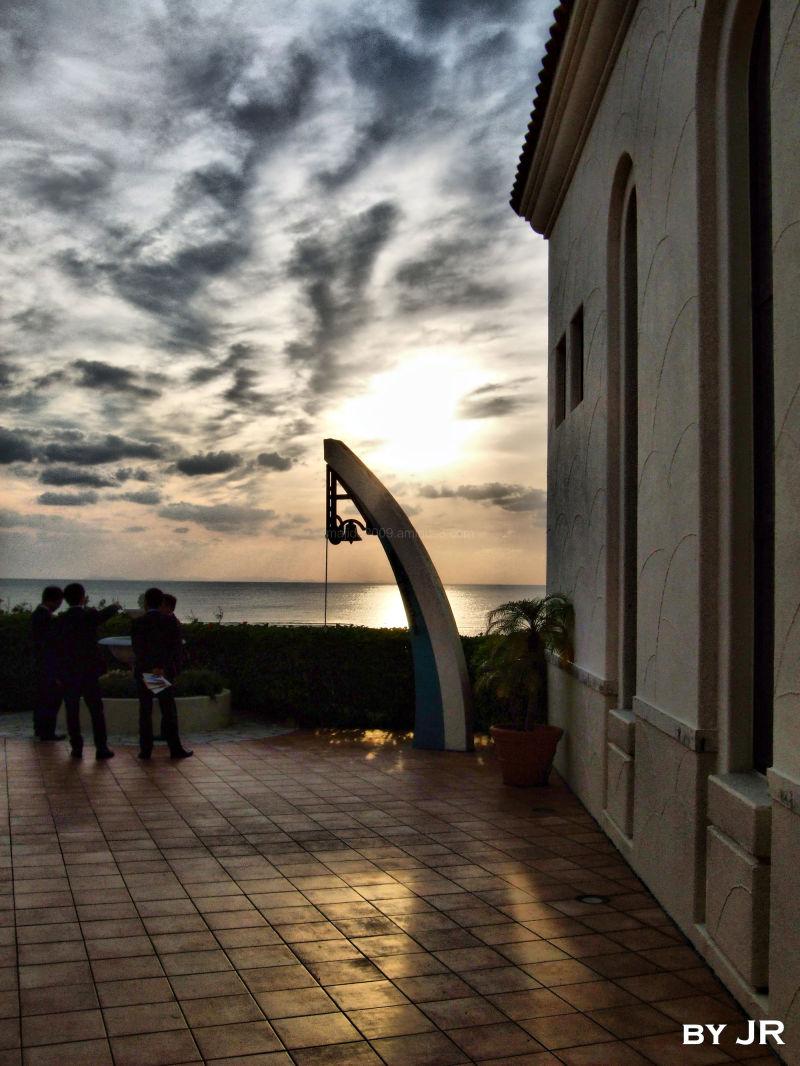Wedding Chapel at Sunset