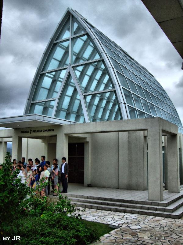 """Okuma Glass Chapel"""""""
