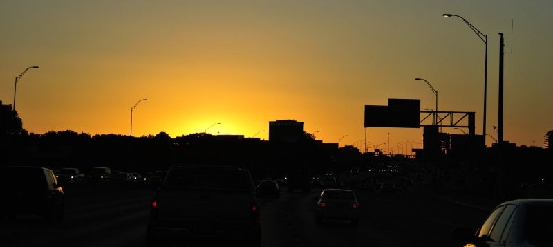 Sunset in Traffic