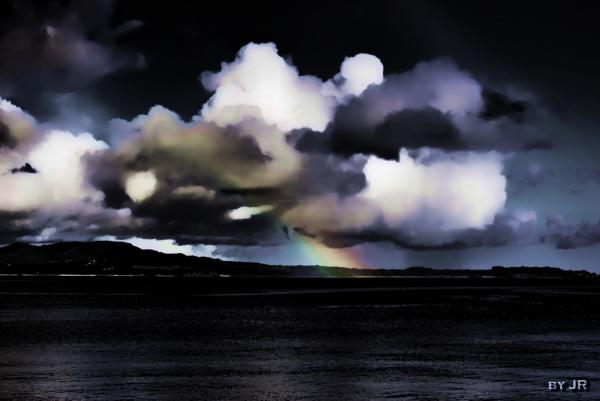 Dark Sky and Rainbow
