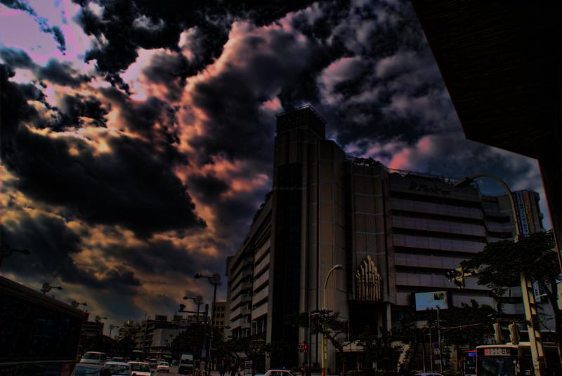 Palette Kumoji in downtown Naha