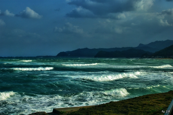 Ocean On A Stormy Day