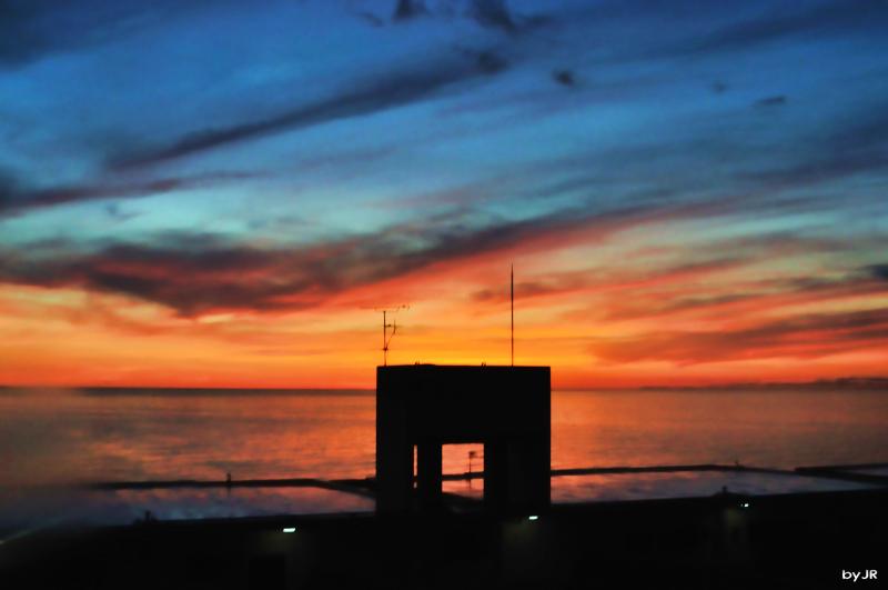 A simply beautiful Okinawan sunset.